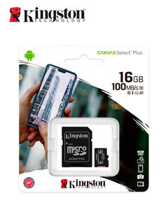 MICRO SD KING CANVAS 16GB