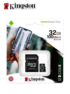 MICRO SD KING CANVAS 32GB
