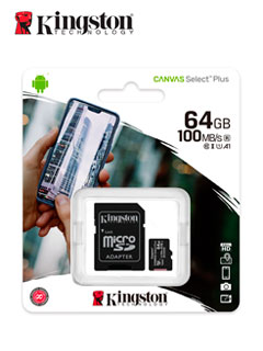 MICRO SD KING CANVAS 64GB