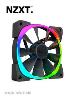Fan NZXT Aer RGB, LED RGB, 14 CM, 500 - 1 500 RPM, 12V, 4 pines.