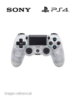 PS4 DUALSHOCK CRYSTAL CLEAR CO