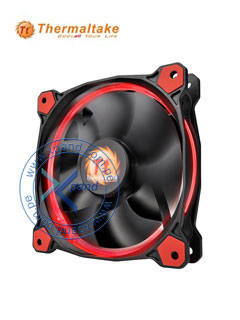 Fan Thermaltake Riing 12 LED Red, 12 CM.
