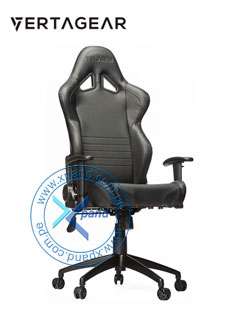 Silla Gaming VertaGear SL2000, Reclinable, Aerodinámica, Reposa-brazos, altura graduable.