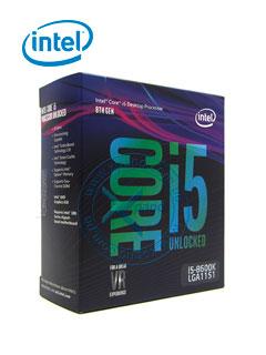 PROC INT CORE I5-8600K 3.60GHZ