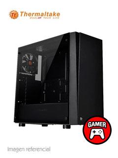 Case Thermaltake Versa J21, Mid Tower, Negro, Panel lateral transparente, USB 3.0 / 2.0.