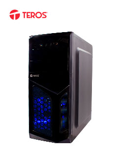 CASE TEROS ATX TE1055 BLUE