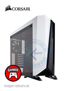 Case Gamer Corsair Carbide Series SPEC-OMEGA, Mid Tower, ATX, Negro/Blanco, USB 3.0, Audio