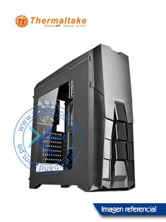 Case Thermaltake Versa N25, Mid Tower, USB 2.0 / USB 3.0, Audio HD, negro.