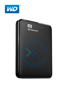 Disco duro externo Western Digital Elements Portable, 1 TB, USB 3.0, negro.