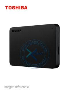 "Disco duro externo Toshiba Canvio Basic, 2TB, USB 3.0, 2.5"", Negro."