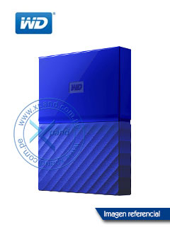 HD WD EXT MY PASSPORT BLUE 4TB