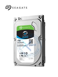 """Disco duro Seagate SkyHaw Surveillance, 1TB, SATA 6.0 Gbps, 64MB Cache, 3.5""""."""