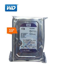 HD WD 1TB 64MB SATA 6GB/S PURP