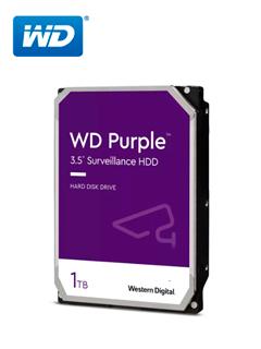 "Disco duro Western Digital Purple Surveillance, 1TB, SATA 6.0 Gbps, 5400RPM, 64MB, 3.5""."