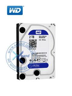 "Disco duro Western Digital Blue, 2TB, SATA 6 Gb/s, 5400 RPM, 3.5""."
