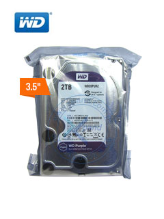 HD WD 2TB PURP 64MB SATA 6GB/S