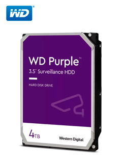 HD WD 4TB PURP 64MB SATA 6GB/S