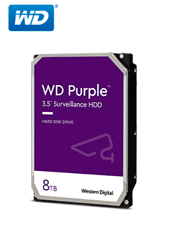 HD WD 8TB SATA PURPLE 128MB