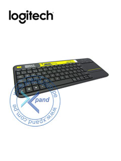 KB USB LOG WRLS TOUCHPAD K400P