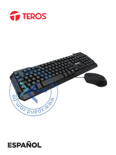 KB USB COMBO TEROS 136