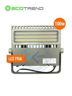 Reflector 100w,140LmXwatts, 14000Lm 32°X84° Asimétrico, 6000°k, CRI70 90-305Vac,IP66,IK10