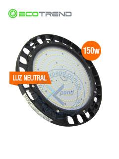 Hi Bay 150W 140 Lumens X watts, Blanco Neutro 120° de HAz, 90-305Vac, IP67,IK10