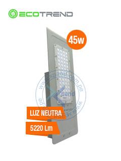 Lampara para Iluminación Publica EcoTrend FFLD4A-60, 45W, 5220 lumens, 4000K, 100 - 277VAC