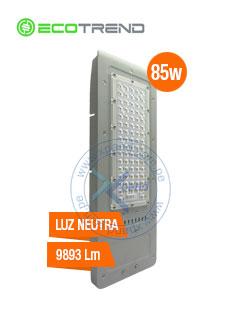 Lampara para Iluminación Publica EcoTrend FFLD4A-80, 85W, 9893 lumens, 4000K, 100 - 277VAC