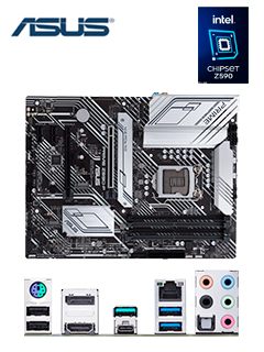 MB AS PRIME Z590-P S/V/L DDR4