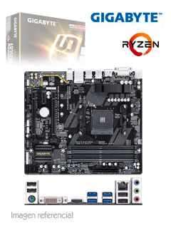 MB GB B350M-DS3H V2 SVL DDR4
