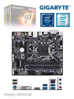 Motherboard Gigabyte Z370M DS3H, rev 1.0, LGA1151, Z370, DDR4, SATA 6.0, USB 3.1