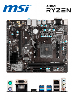 MB MS A320M PRO-VH S/V/L DDR4