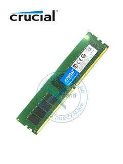 Memoria Crucial CT16G4DFD824A, 16 GB, DDR4, 2400 MHz, CL17, non-ECC, 1.2V, UDIMM.