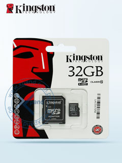 MICRO SD CARD 32GB HC KING CL4