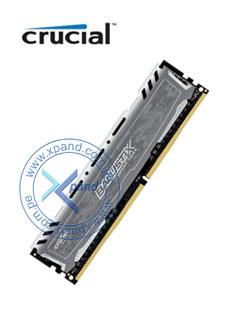 Memoria Crucial Ballistix Sport LT Gray, 4GB, DDR4, UDIMM, 2400 MHz, Non-ECC.
