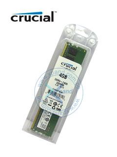 Memoria Crucial CT4G4DFS824A, 4 GB, DDR4, DDR4, 2400 MHz, UDIMM, CL17, 1.2V.