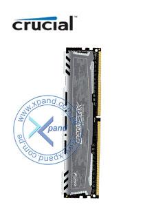 Memoria Crucial Ballistix Sport LT Gray, 8GB, DDR4, 2400 MHz, UDIMM, CL16, 1.2V.