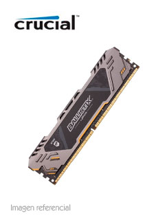 Memoria Crucial Ballistix Sport AT, 8GB, DDR4, 2666 MHz, PC4-21300, CL16, UDIMM, 1.2V