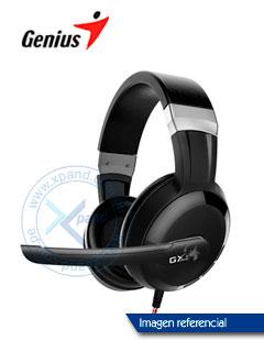 Auriculares Gaming Genius HS-G580, 40mm, 3.5mm, Negro, microfono.