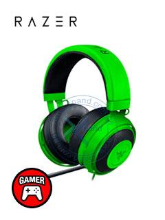 Auriculares Gaming Razer Kraken Pro V2, 50mm, 32 Ohm, Verde, microfono, 3.5mm.