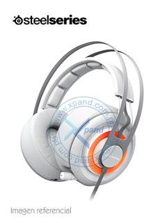 Auriculares Gamer SteelSeries Siberia Elite Anniversary, Micrófono retráctil, Blanco.