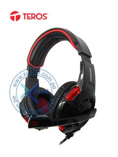 Headset 7.1 Gaming HG9005 Teros, USB 2.0, Longitud de cable 2.7metros, Micrófono