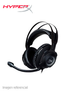 Auriculares Kingston HyperX Cloud Revolver, Dolby Surround 7.1,micrófono, 3.5mm, Negro.
