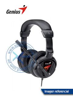 Headset Genius HS-G500V, USB 2.0, Longitud de cable 2 metros, Presentación en Colgador.