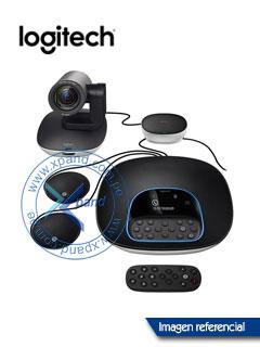 Sistema para videoconferencias Logitech GROUP para medianas y grandes salas de reuniones