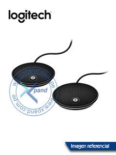Microfono Logitech Group Expansion, Mono, banda ancha, supresión de ruido.