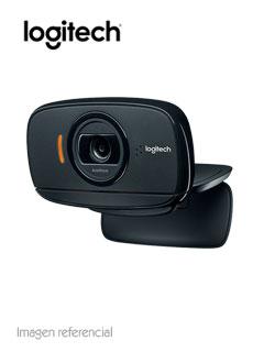 Cámara web Logitech B525, hasta 1080p HD, microfono, 2MP, USB 2.0, gira 360º.