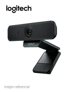 Cámara web Logitech C925E, hasta 1080p HD, microfono, USB 2.0, enfoque automatico.