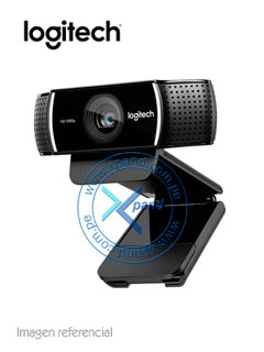 WebCam Logitech C922 Pro Stream, Full HD / HD, 1080p / 720p, microfono integrado.