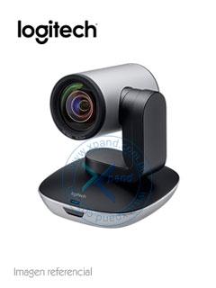Cámara de video Logitech PTZ Pro 2, HD 1080p, Panorámico de 260º, Zoom FHD 10x.